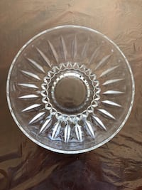 Crystal party bowl, excellent condition  San Jose, 95148