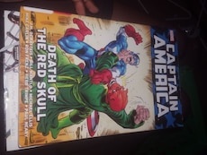 captain America the death of red skull