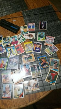 assorted baseball player trading card lot Nashville