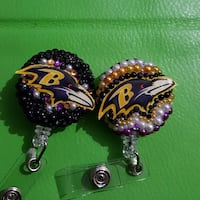 two Baltimore Ravens keychains Baltimore, 21205