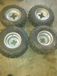 Polaris 200 Phoenix rims wheels tires
