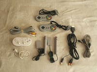 Nintendo controllers and tv connection cables  Markham, L6B 0B4