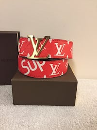 Red LV/Supreme Belt  Mississauga, L5B 2C9