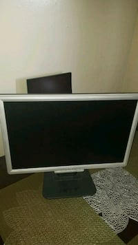 gray flat screen computer monitor Toronto, M6L 1C4