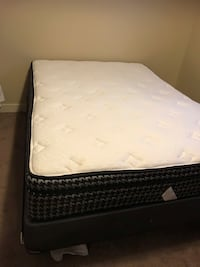Double mattress & box spring. Great quality