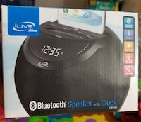 Ilive blue Bluetooth speaker