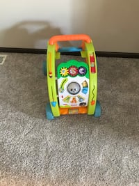 yellow and blue Fisher-Price learning walker Waterloo, 50702