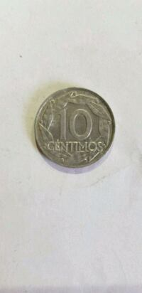 Moneda de 10 centimos 6644 km