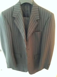 gray and white pinstripe suit jacket Virginia Beach, 23462