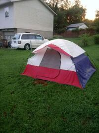 white, red, and blue camping tent Knoxville, 37921