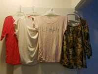 women's four assorted shirts Jacksonville