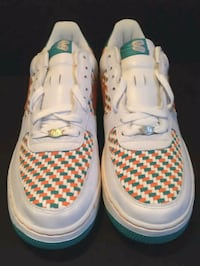 "Nike Air Force 1, ""305"" Miami Dolphins Edition  Allentown"