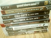 assorted PS3 game case lot Richmond, 94801