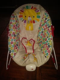 baby's white and red bouncer Warner Robins