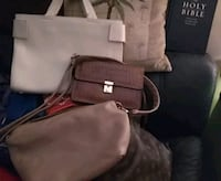 238042c96 Used Brown coach leather handbag for sale in Fort Pierce - letgo