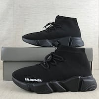 Balenciaga speed trainers (all black)  Vancouver, V6C 1W6