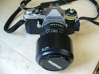 Pentax ME  camera with two lens Langdon