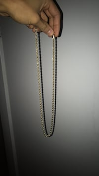 Gold Plated Rope Chain Buffalo, 14210