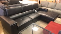 black leather sectional Phoenix, 85018