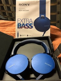 Brand New Extra Bass Sony Headphones  Ottawa, K2R