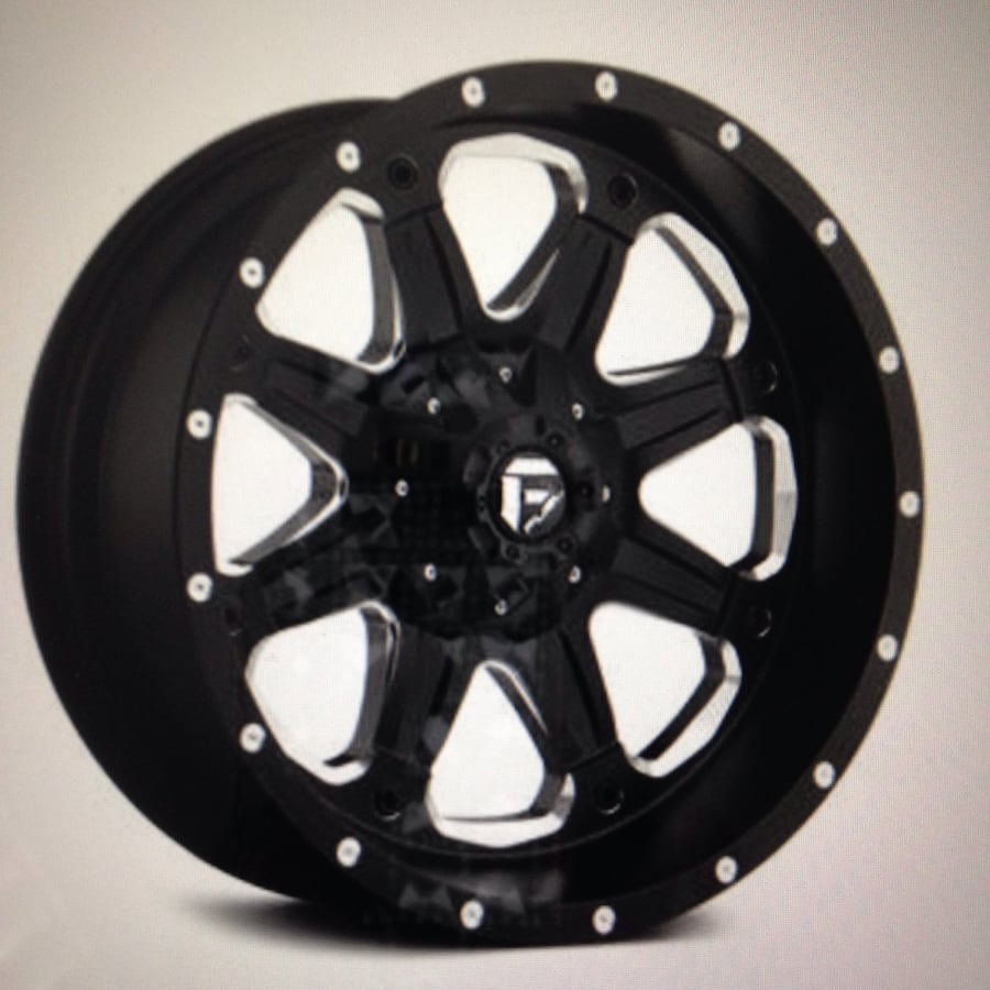 FUEL WHEELS 16x8