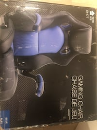 Black and blue gaming chair  Mississauga, L5R 3S2