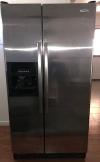 Whirlpool Stainless steel side-by-side refrigerator with dispenser Fairfield, 94533