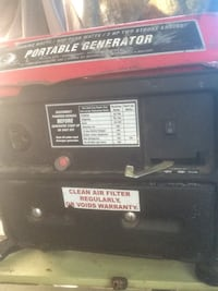 Portable 2cycle generator $60 Oakland, 94601