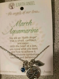 Beautiful earth angel necklace  Guelph, N1H 8G3