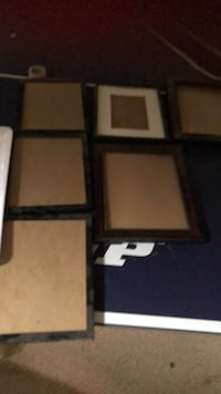 6 8x10 picture frames  Mississauga, L5N 1Y6
