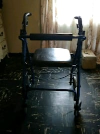 black and gray rollator walker Haines City, 33844