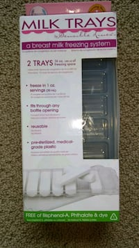 Freezer trays, breast milk Coquitlam, V3H 4S9