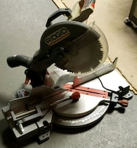 Rigid Mitre Saw 12 inch Excellent Condition