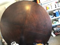 brown wooden round table with chairs Grapevine, 76051