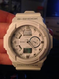 White g shock casio digital chronograph watch Adrian, 49221