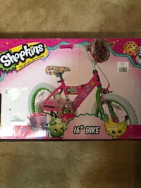 "Shopkins 16"" girls bike Gaithersburg, 20882"