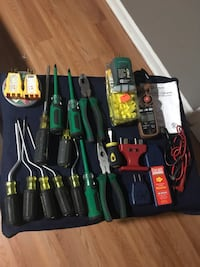 assorted-color handheld tool lot Silver Spring, 20902