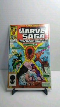 The Marvel Saga #4 X-Men Origins  bag and boarded  Long Beach, 90810