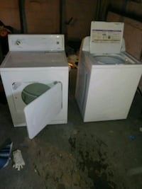 white front-load clothes washer and dryer set Kansas City, 64130