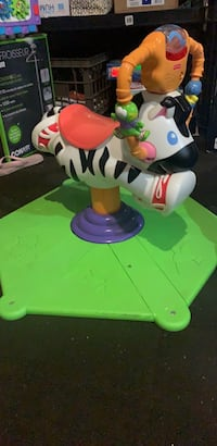 Fisher price bouncing zebra toy!  Mississauga, L5N 8R4