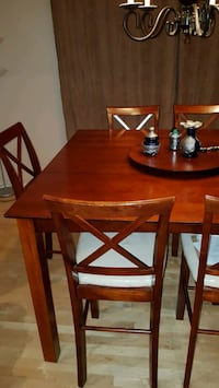 Dinning table with 6 chairs  Whitby