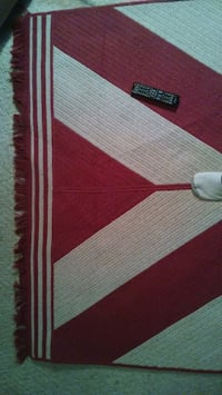 white and red striped textile New Albany