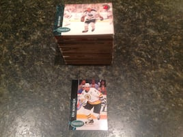 Complete Hockey card set, Parkhurst 92/93, mint condition