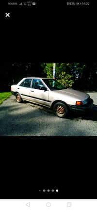1992 Mazda Protege TRADES ONLY LOTS OF WORK DONE!  White Rock