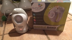 Summer babble band with box