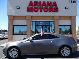 2012 Cadillac CTS Coupe 2dr Cpe RWD