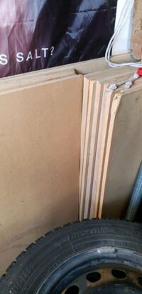 MDF boards 42x42 ench around 17 or 20 all for  50 Whitby, L1N 0C8