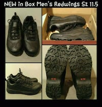 NEW IN BOX MENS BLACK REDWINGS SHOES SIZE 11.5 Ontario, 91762
