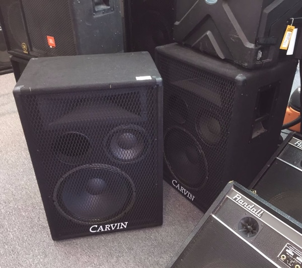 Carvin 1584 Pro 3 Way PA Speakers