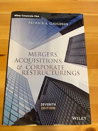 FINA415 Mergers, Acquisitions, and Corporate Restructurings Montréal, H3H 2L3